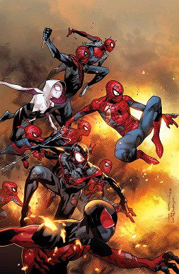 Amazing Spider-Man #12 cover by Olivier Coipel