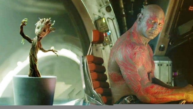 Groot and Drax the Destroyer