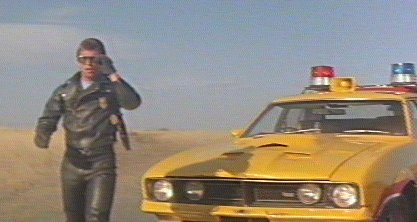 mad max yellow interceptor