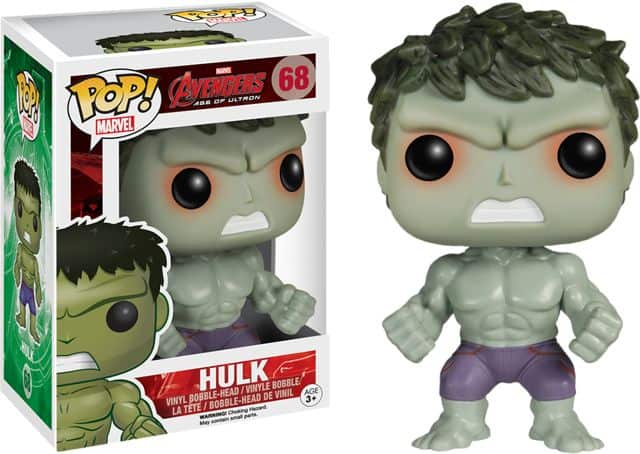 Hulk Funko POP Vinyl exclusive from Hot Topic