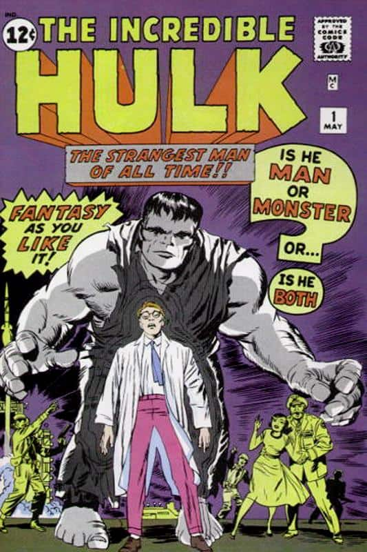 Incredible Hulk #1 - First Appearance of the Hulk (May 1962)
