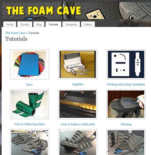 foam cave
