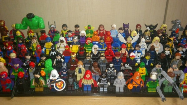 LEGO Avengers and villains