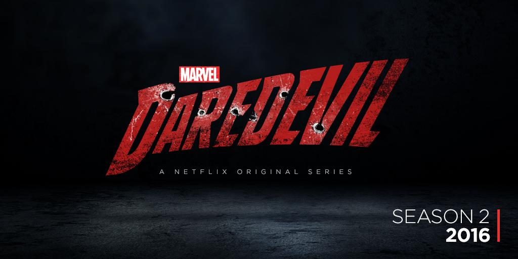 The Netflix original series Daredevil to return in April