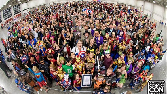 1,784 costumed characters broke the World Record/ Photo Courtesy of Guinness World Records