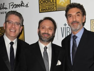 Bill Prady, Steven Molaro, and Chuck Lorre