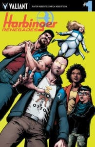 HARBINGER RENEGADES #1 – Cover A by Darick Robertson