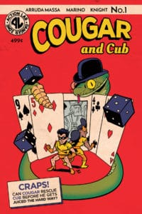 Cover C – Golden Age Flashback variant cover (limited to 1000)
