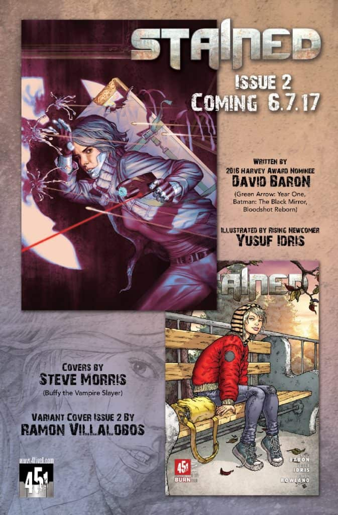 STAINED #1 JOCK Variant 451 Burn SOLD OUT!!!