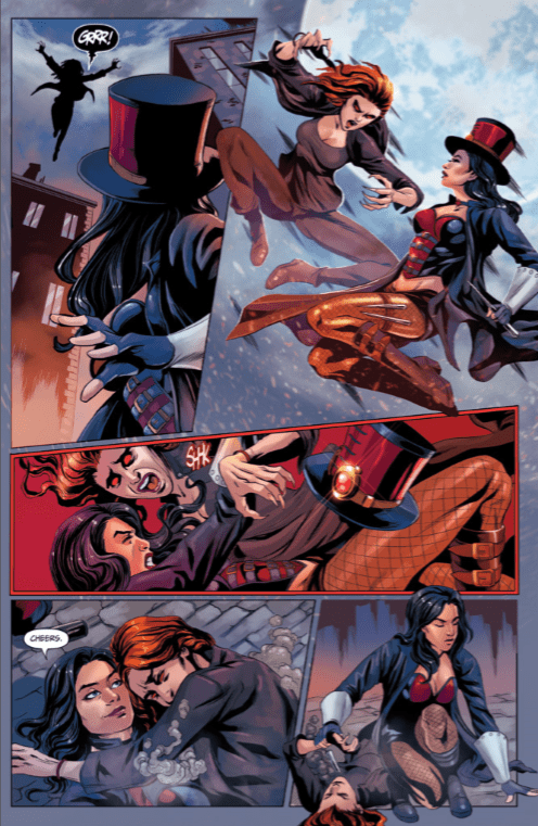 Comic Book Review] Zenescope's 'Van Helsing vs  Robyn Hood