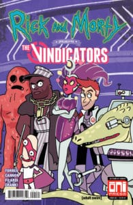 Rick and Morty™ Presents: The Vindicators #1 - Cover B by Caitlin Rose Boyle