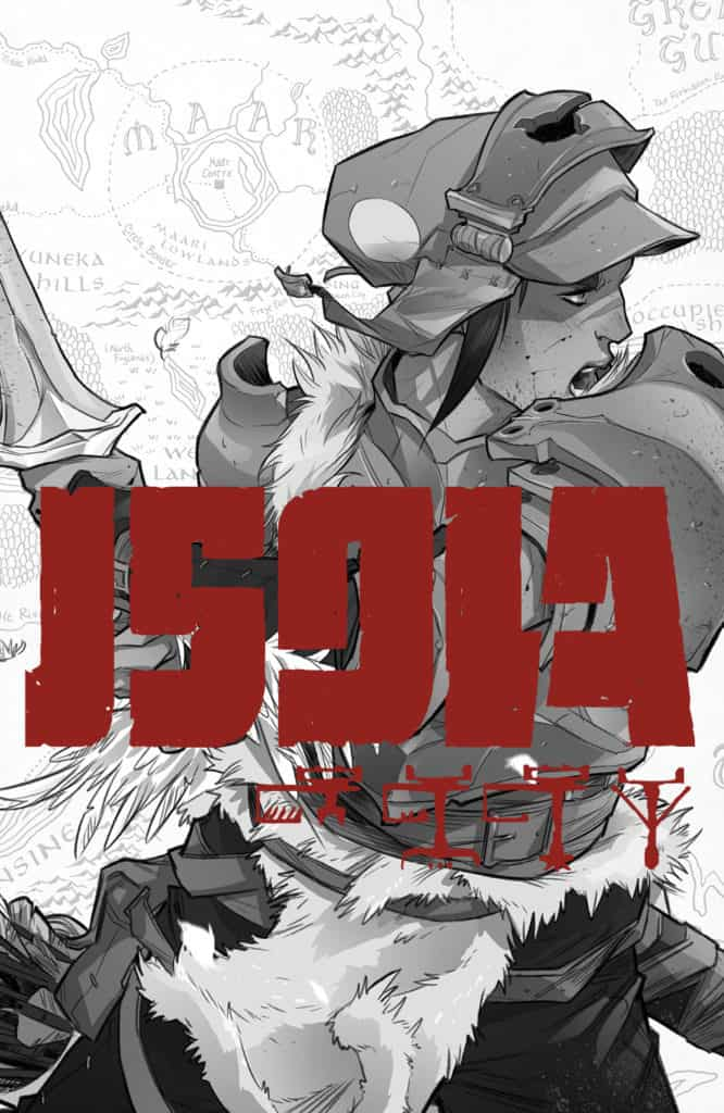 Isola #1 - Second Printing cover
