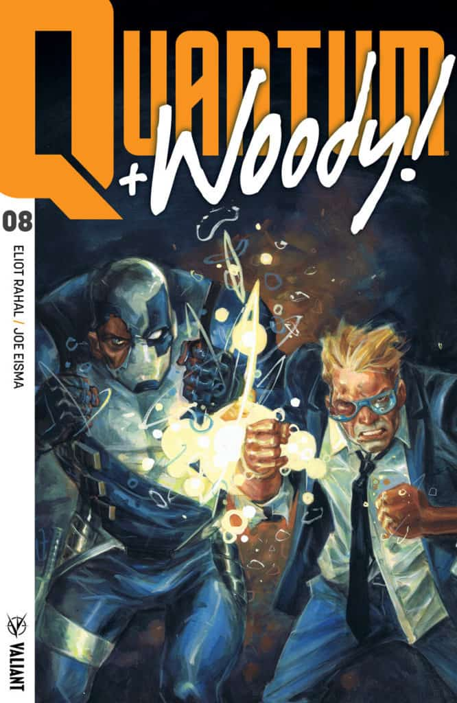 QUANTUM AND WOODY! (2017) #8 – Cover A by Tom Fowler