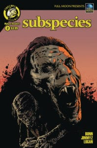 Subspecies #2 Cover B by Travis Smith