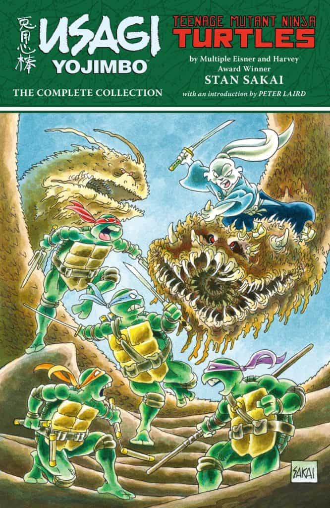Usagi Yojimbo/Teenage Mutant Ninja Turtles: The Complete Collection TPB cover