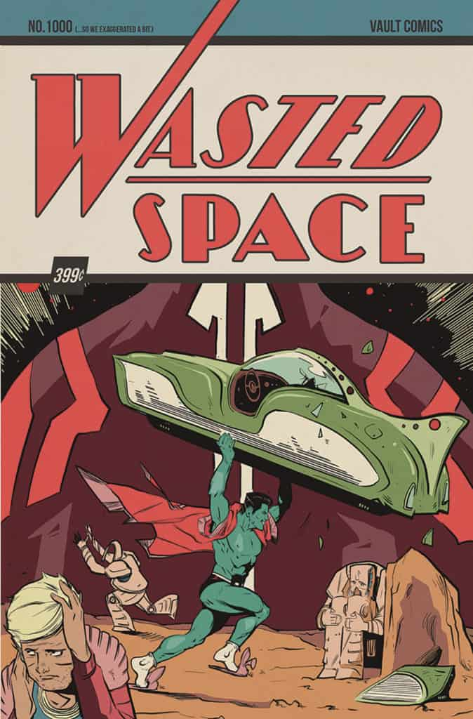 WASTED SPACE #1 - Second Printing Variant by Nathan Gooden & Tim Daniel