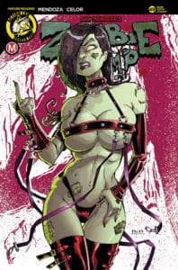 Zombie Tramp #49 Cover C White