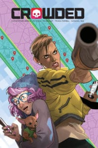 CROWDED #1 Cover B by Stott