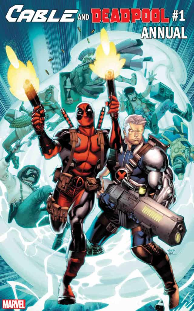 Cable and Deadpool Annual #1 cover
