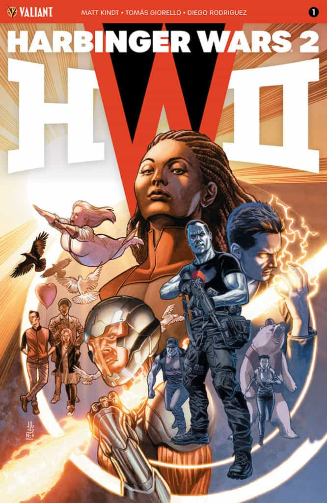 HARBINGER WARS 2 #1 (of 4) – Cover A by J.G. Jones