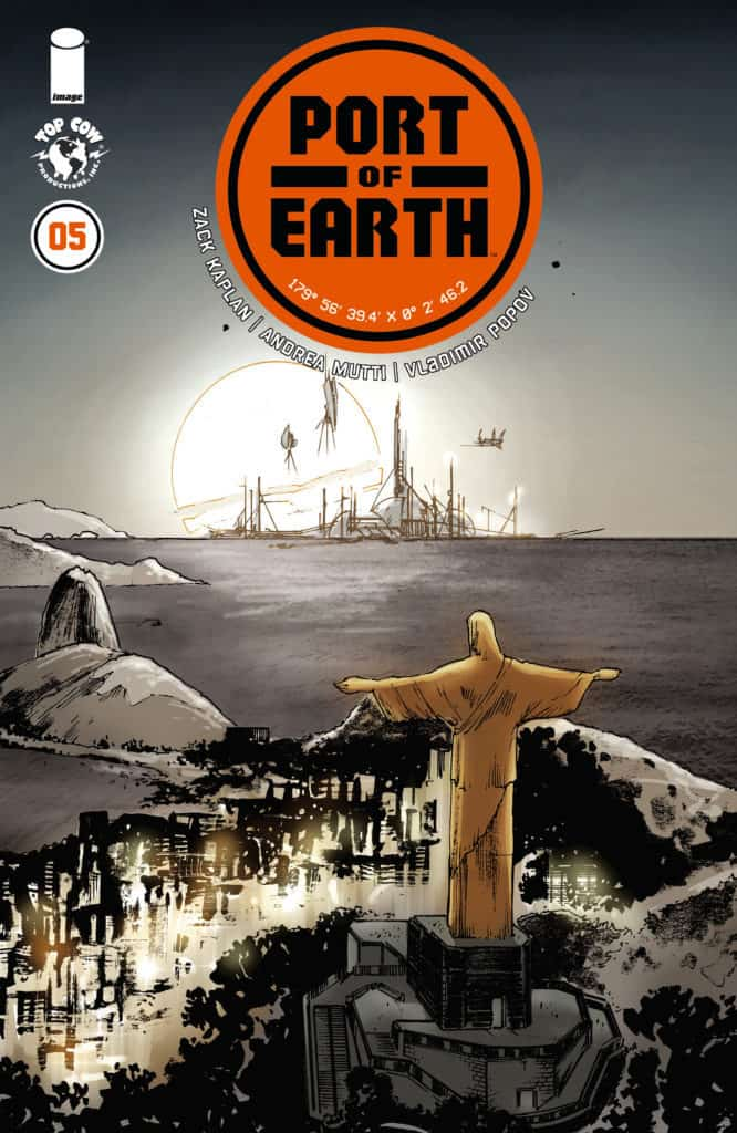 Port of Earth #5 cover