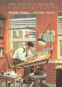 The Joe Shuster Story: The Artist Behind Superman cover
