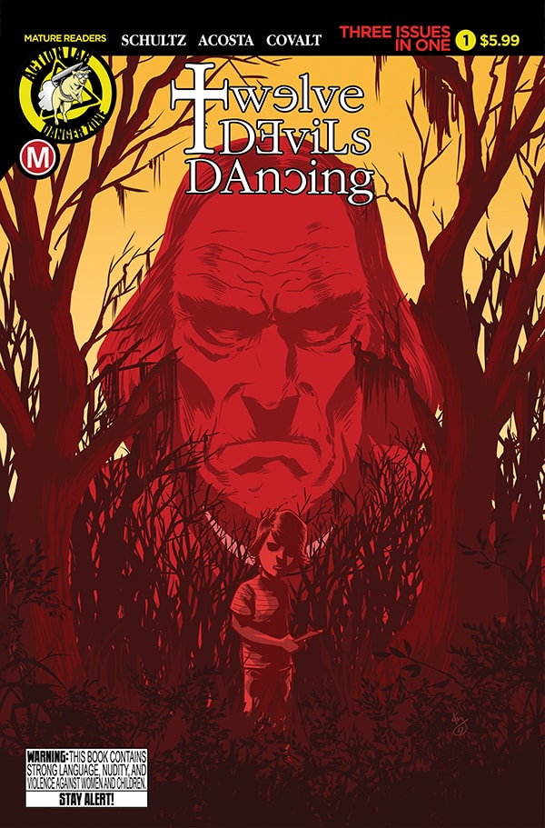Twelve Devils Dancing #1 Cover