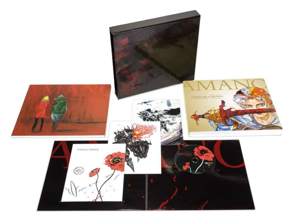 Yoshitaka Amano - The Illustrated Biography—Beyond the Fantasy Limited Edition