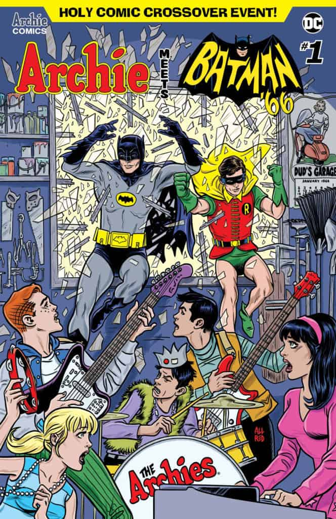 ARCHIE MEETS BATMAN '66 #1 - Main Cover by Michael Allred & Laura Allred