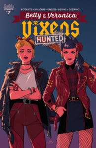 BETTY & VERONICA: VIXENS #7 - Variant Cover by Audrey Mok