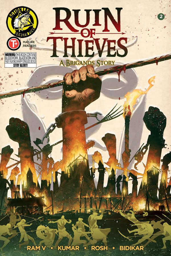 Ruin of Thieves: A Brigands Story #2 Cover A by Sumit Kumar