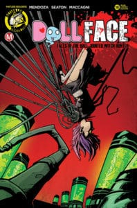 DollFace #18 Cover C Stanley