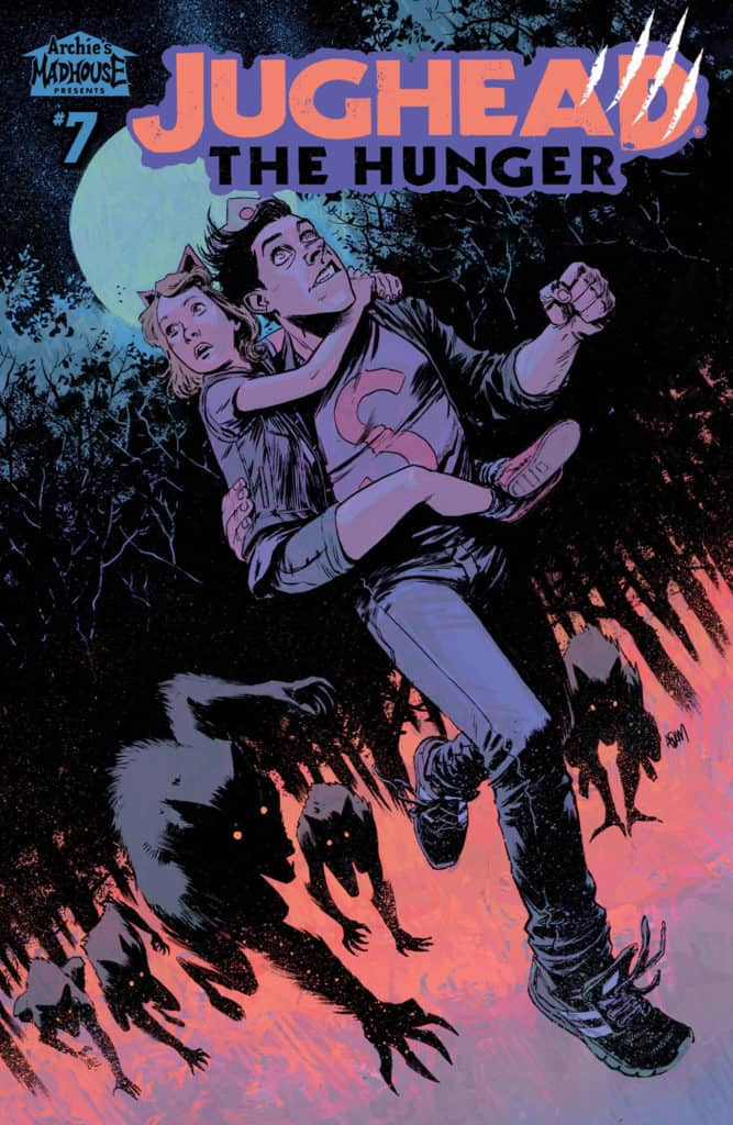 Jughead: The Hunger #7 - Main Cover by Adam Gorham