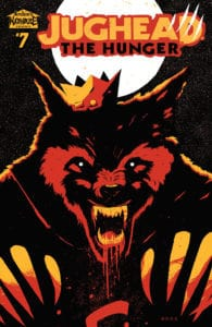 Jughead: The Hunger #7 - Variant Cover by Tyler Boss