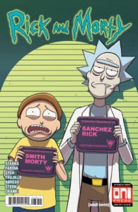 Rick and Morty #39 - Main Cover by Marc Ellerby with Sarah Stern