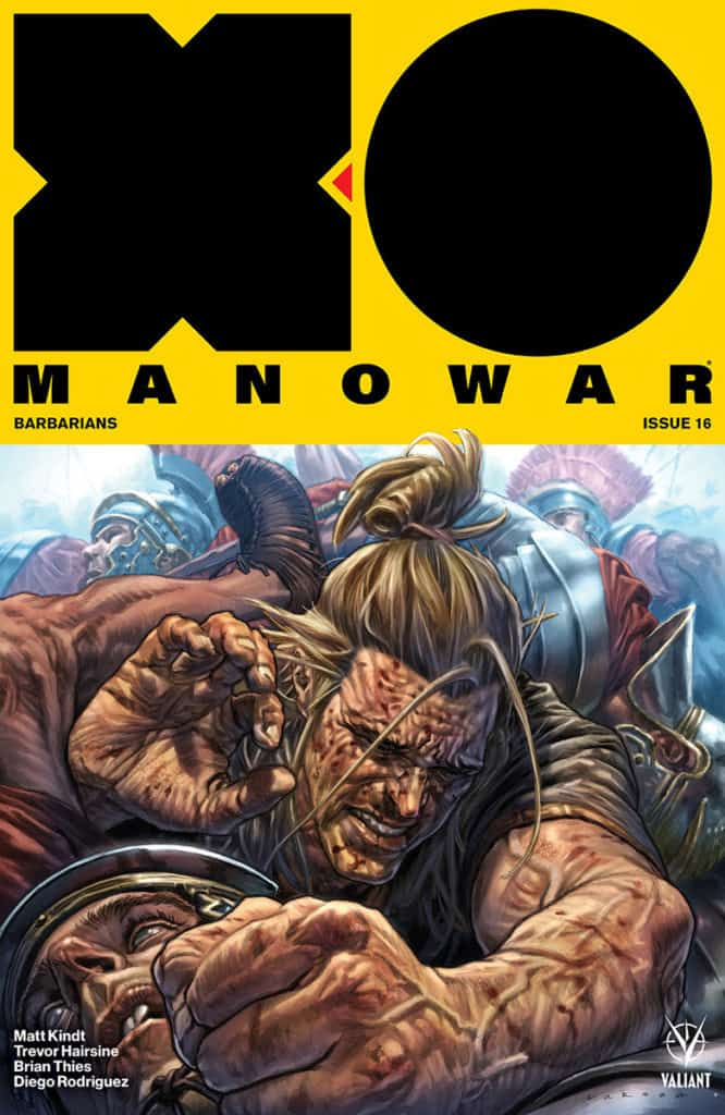 X-O Manowar #16 - Cover A by Lewis LaRosa