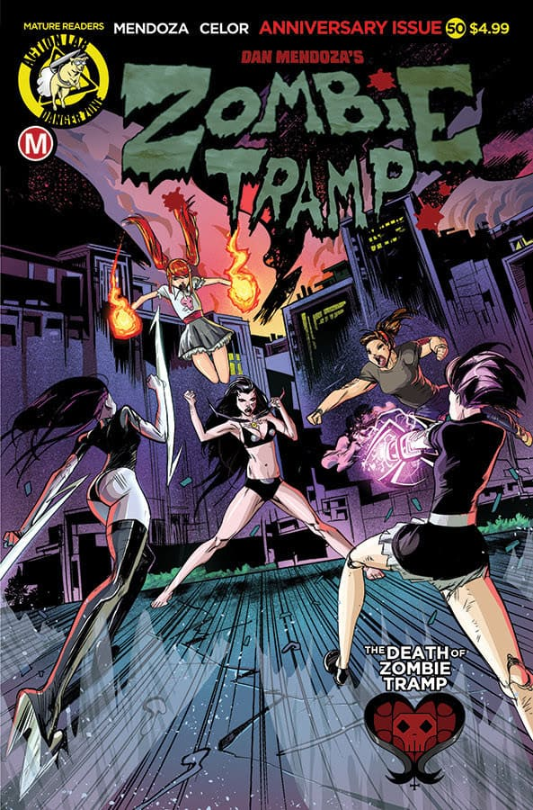 ZOMBIE TRAMP #50 Cover A – Celor regular