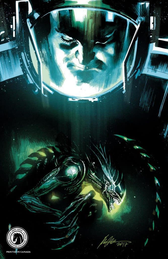 Aliens: Dead Orbit #1 Convention Exclusive (Rafael Albuquerque)