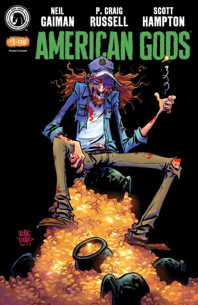 American Gods: Shadows #1 Convention Exclusive (Skottie Young)