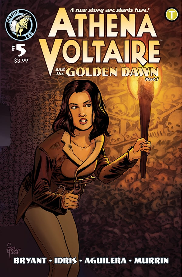 Athena Voltaire Ongoing #5 Cover A