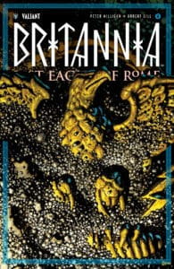 BRITANNIA: LOST EAGLES OF ROME #4 (of 4) - Variant Cover by Rafa Garres