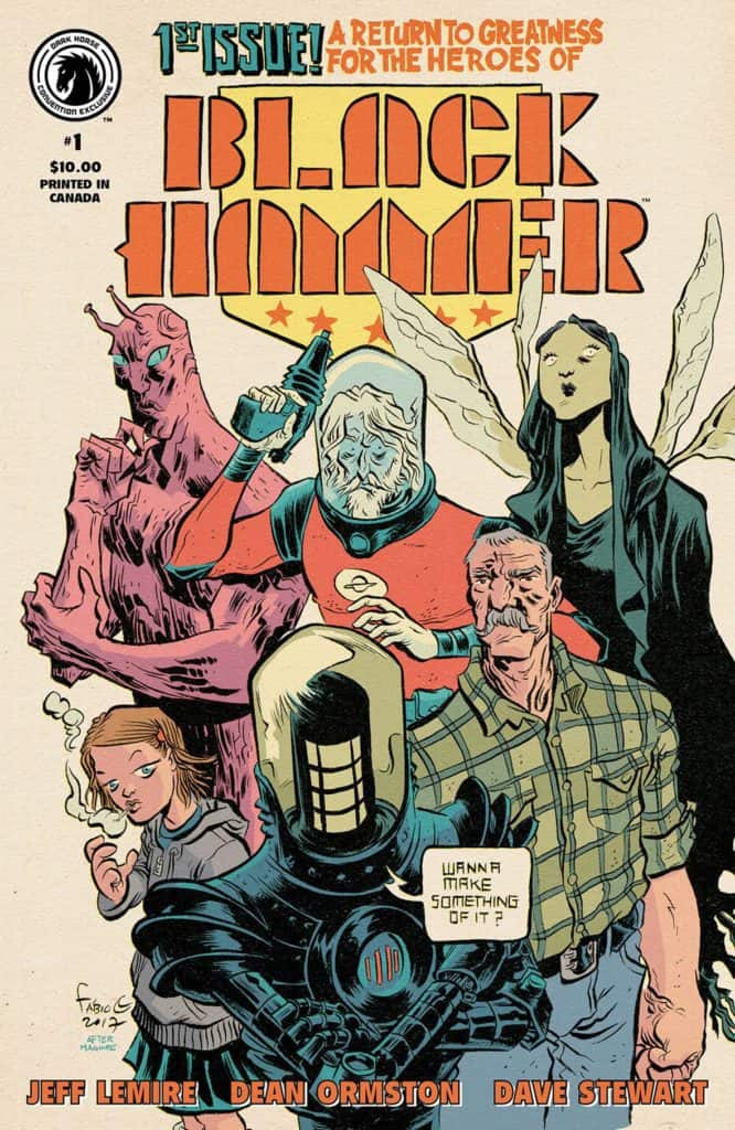 Black Hammer #1 Convention Exclusive (Fábio Moon)