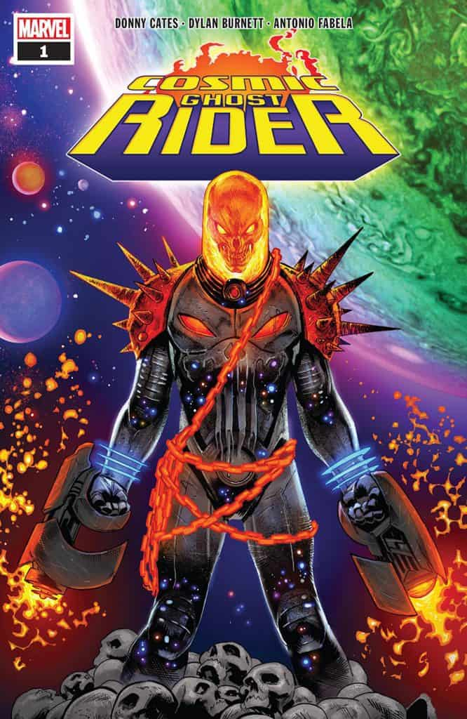 COSMIC GHOST RIDER #1 - Main Cover by Geoff Shaw & Antonio Fabela