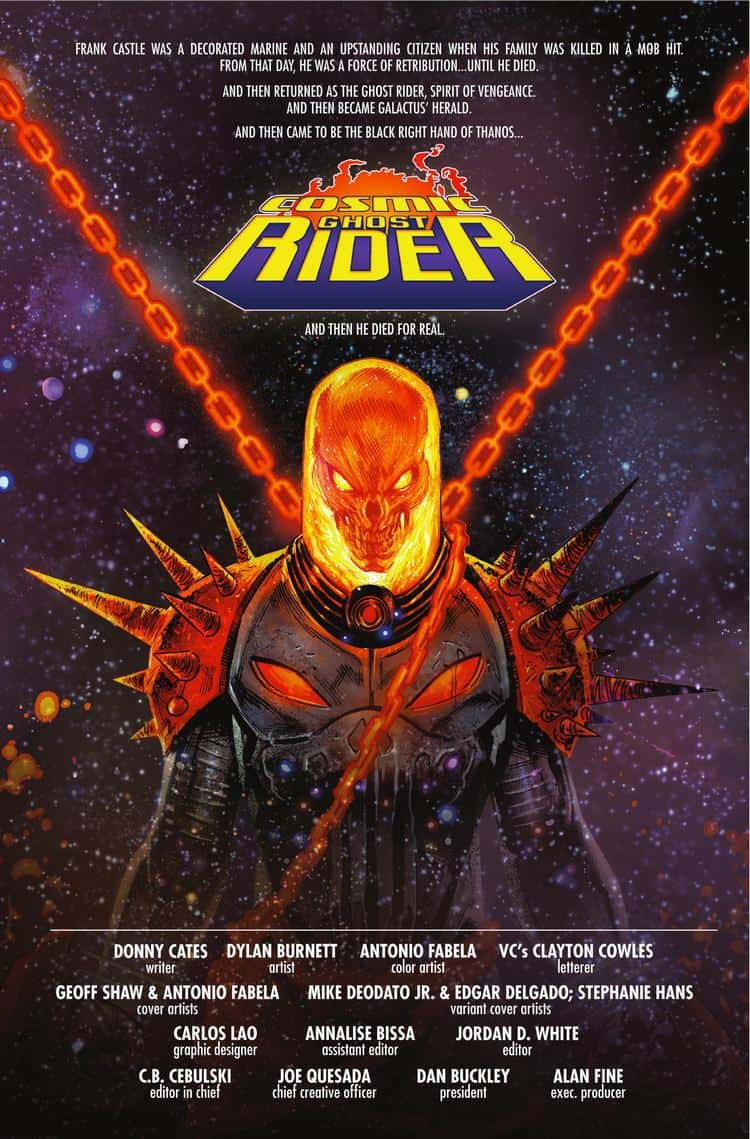 Comic Book Review] COSMIC GHOST RIDER #1 from Marvel Comics – PopCultHQ