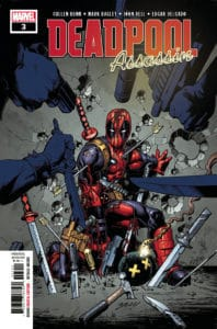 Deadpool: Assassin #3 - Main Cover by Mark Bagley