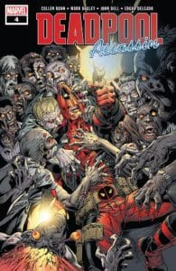 Deadpool: Assassin #4 - Main Cover by Mark Bagley