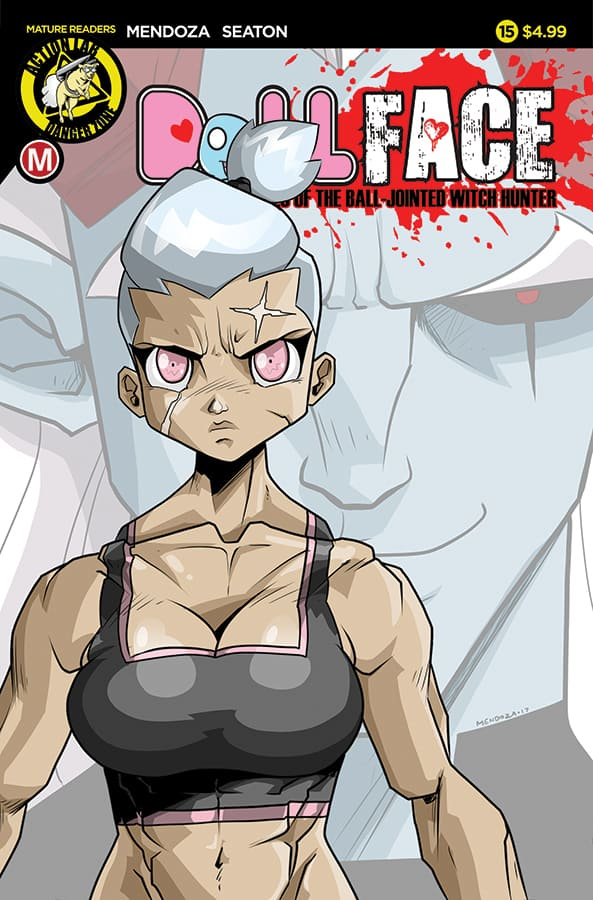 DollFace #15 Cover A Mendoza