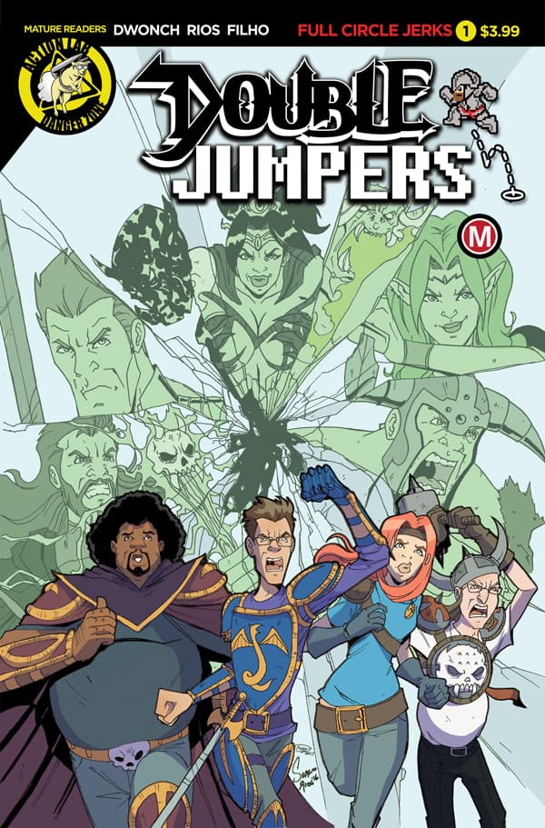 Double Jumpers: Full Circle Jerks #1 Cover A