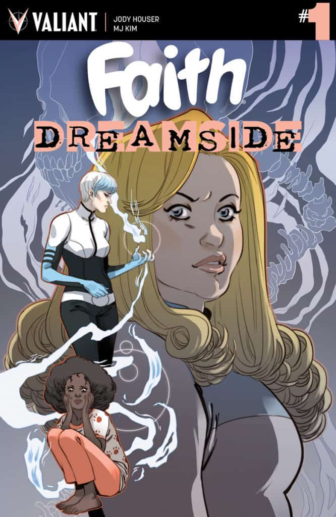 FAITH: DREAMSIDE #1 (of 4) – Cover A by Marguerite Sauvage