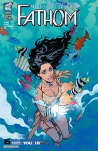 Fathom Vol. 7 #2 - Cover B by Mirka Andolfo